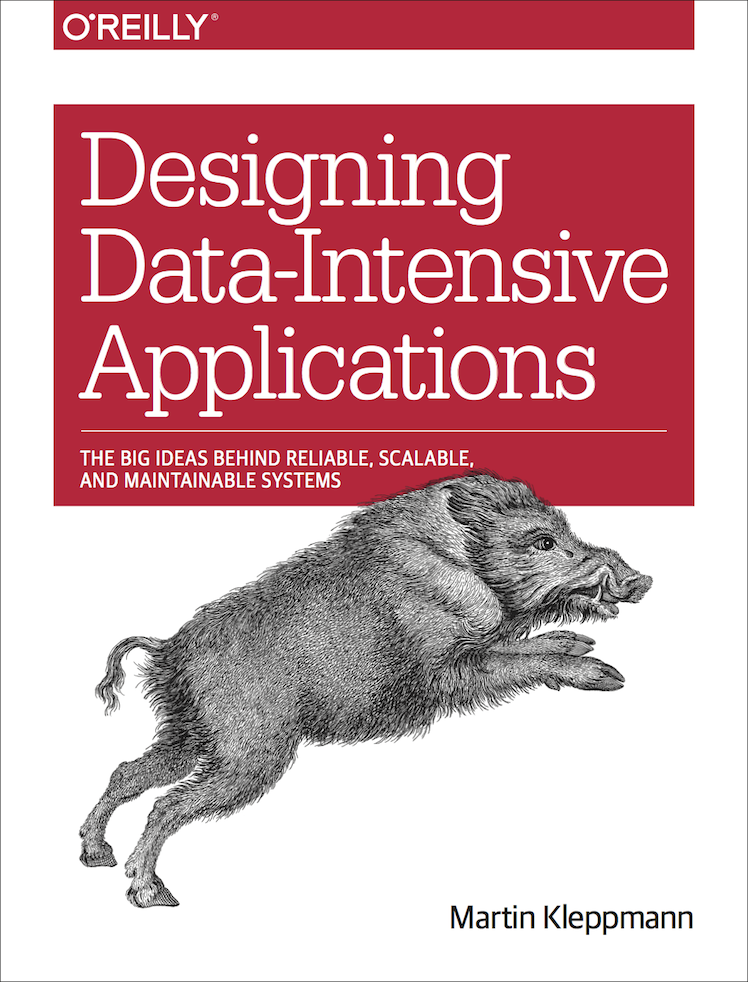 Book cover of Designing Data-Intensive Applications